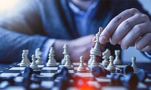 strategy in chess game
